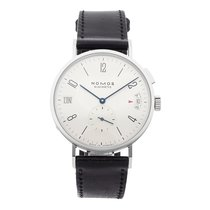 NOMOS 40mm Automatic pre-owned Tangomat GMT Silver