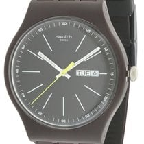 Swatch 41mm Quartz new Black