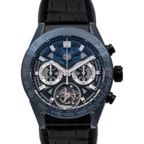 TAG Heuer Carrera Heuer-02T new Automatic Watch with original box and original papers CAR5A93.FC6442