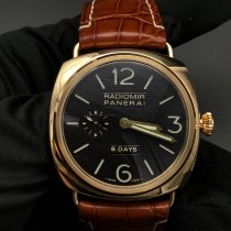 Panerai Radiomir 8 Days Rose gold 45mm Black Arabic numerals United States of America, New York, New York