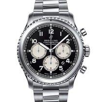 Breitling Navitimer 8 nuevo Automático Cronógrafo Reloj con estuche y documentos originales AB0117131B1A1