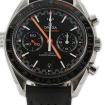 Omega Speedmaster Racing pre-owned 44.2mm Black Date Leather