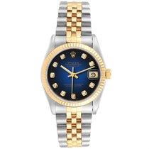 Rolex Lady-Datejust Gold/Steel 31mm Blue United States of America, Georgia, Atlanta