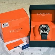 Locman 60.5mm Manual winding 019000BK0009GAK pre-owned