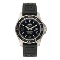 Breitling Superocean 44 pre-owned 42mm Black Date Rubber