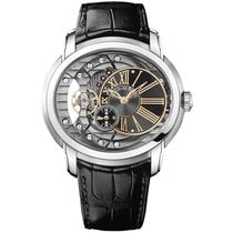 Audemars Piguet Millenary 4101 Steel 47mm Black Roman numerals United States of America, New York, New York