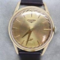 Longines Flagship Gelbgold 34mm Gold Keine Ziffern