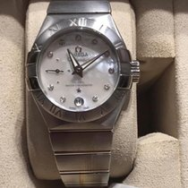 Omega Constellation Petite Seconde Staal 27mm Parelmoer Geen cijfers