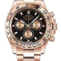 Rolex Daytona Oro rosa 40mm Negro