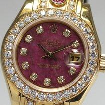ロレックス (Rolex) Date just original diamond ladies 69298