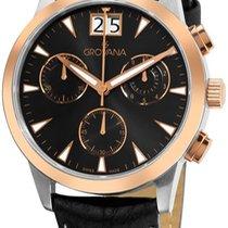 Grovana Chronograph Quartz new Black