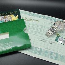 """劳力士  (Rolex) AIR KING 14000M Original Silver """"Domino Pizza""""..."""