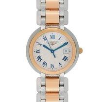 Longines PrimaLuna Quartz Steel/Gold Ladies Watch – L8.109.5.78.6