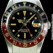 Rolex Gmt 6542 Gilt Gloss Dial Steel