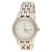 Maurice Lacroix White Stainless Steel Men's Wristwatch 41 mm