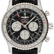 Breitling Navitimer Rattrapante Acero 45,00mm Negro