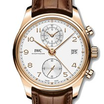 IWC Portuguese (submodel) Rose gold 42mm Silver