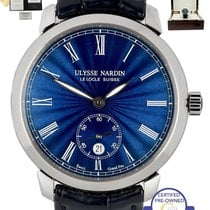 Ulysse Nardin 2017  Classico In House Movement Blue 40mm 3203...
