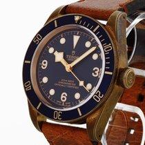Tudor Heritage Black Bay Bronze Bucherer Edition Blau Fullset...