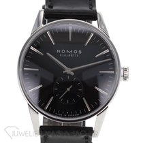 NOMOS Zürich pre-owned 39.8mm Black Leather