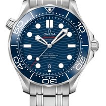 Omega Seamaster Diver 300 M Steel 42mm Blue United Kingdom, Budapest