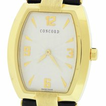 Concord La Scala Yellow gold 38mm Silver Arabic numerals United States of America, New York, Massapequa Park