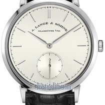 A. Lange & Söhne Saxonia White gold 38.5mm Silver United States of America, New York, Airmont