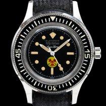 Blancpain Fifty Fathoms Steel 41mm Black Arabic numerals