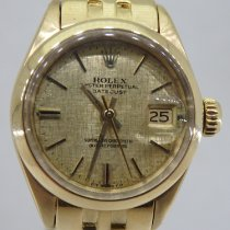Rolex Oyster Perpetual Lady Date Oro amarillo 26mm Champán Sin cifras España, Valencia