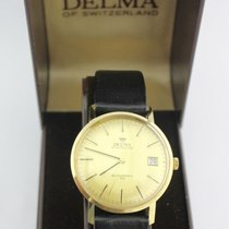 Delma 34mm Automatic 1960 pre-owned Gold