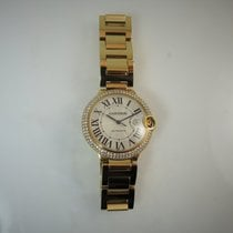 Cartier Ballon Bleu 42mm Yellow gold 42mm Silver Roman numerals United States of America, Illinois, Chicago
