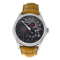 JeanRichard Steel 42mm Automatic 1665 new United States of America, New York, New York