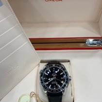 Omega Seamaster Planet Ocean Steel Black Arabic numerals United States of America, New York, New York