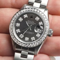 Rolex Lady-Datejust Steel 26mm Grey
