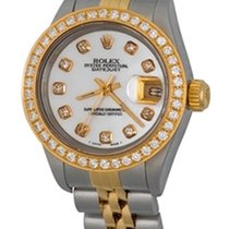 Rolex Lady-Datejust Stahl 25mm Perlmutt Keine Ziffern