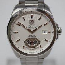 TAG Heuer Grand Carrera Steel 40mm Silver