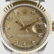 Rolex Zlato/Zeljezo 26mm Automatika 69173 rabljen