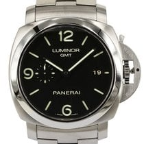 Panerai Luminor 1950 3 Days GMT Automatic PAM 00329 Very good Steel 44mm Automatic New Zealand, Auckland