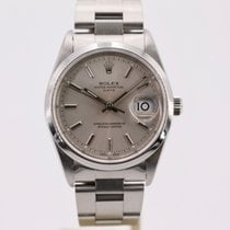 Rolex Oyster Perpetual Date Steel 34mm Silver No numerals United Kingdom, London