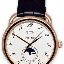 Hermès pre-owned Automatic 43mm Champagne