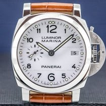 Panerai Steel Automatic White Arabic numerals 42mm pre-owned Luminor Marina 1950 3 Days Automatic