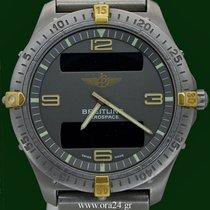 Breitling Professional Series  40mm Aerospace Titanium Gold...