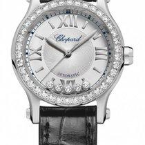 ショパール (Chopard) Happy Sport Stainless Steel & Diamonds...