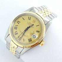 Rolex Datejust Herren Uhr Mit Stahl/gold Ref.1601 Top Zustand