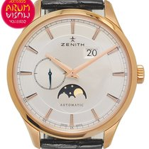 Zenith Captain Moonphase Oro rosado 40mm Plata España, Madrid