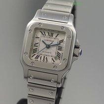 Cartier Santos Automatik 2423 -Stahl/ Stahl / Papiere