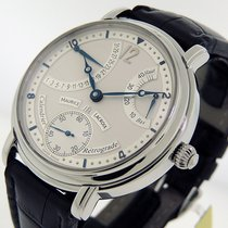 Maurice Lacroix Masterpiece Calendrier Retrograde Solid Silver...