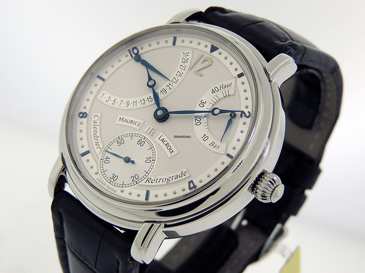 Maurice Lacroix Masterpiece Calendrier Retrograde Solid