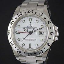Rolex Explorer II Steel Case White Dial Ref-16570 2002