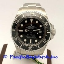 Rolex Sea-Dweller Deepsea pre-owned 44mm Black Date Year Steel